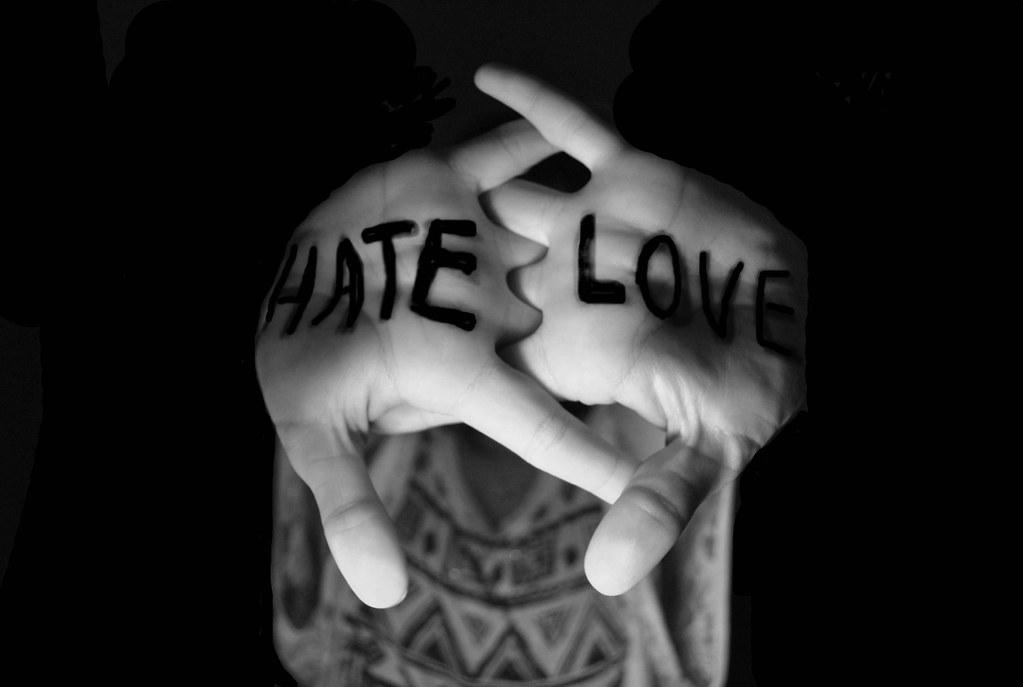 love vs hate
