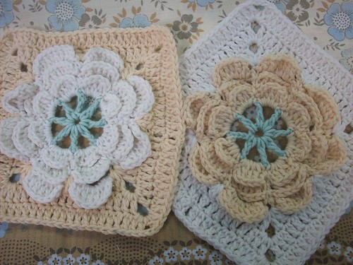 Two new granny squares | by gemmipopdesigns