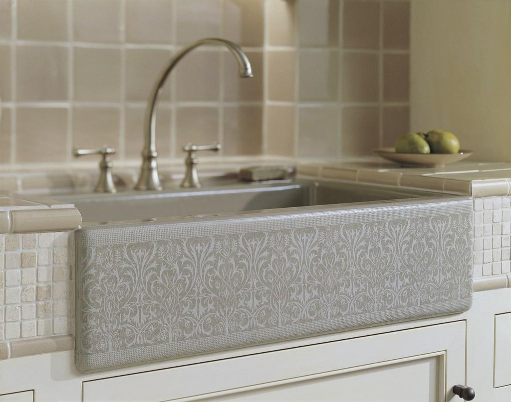 Merveilleux ... Alencon Lace Apron Front Sink | By KohlerCo