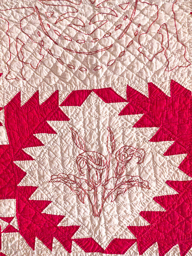 """Infinite Variety: Three Centuries of Red and White Quilts"" 