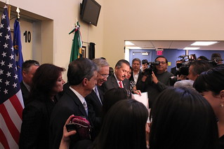 Reid at the Mexican consulate | by Senator Harry Reid