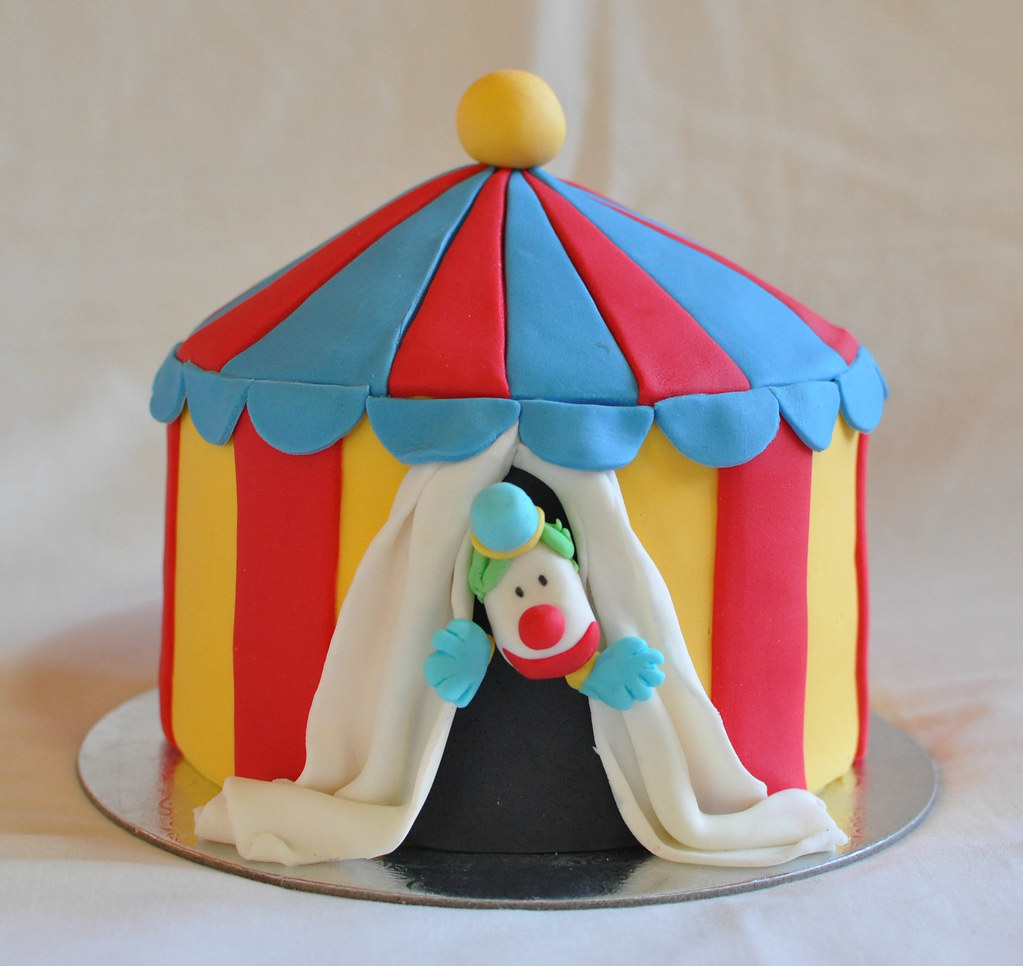 ... Circus tent cake | by Its A Cake Thing (Jho) & Circus tent cake | 6