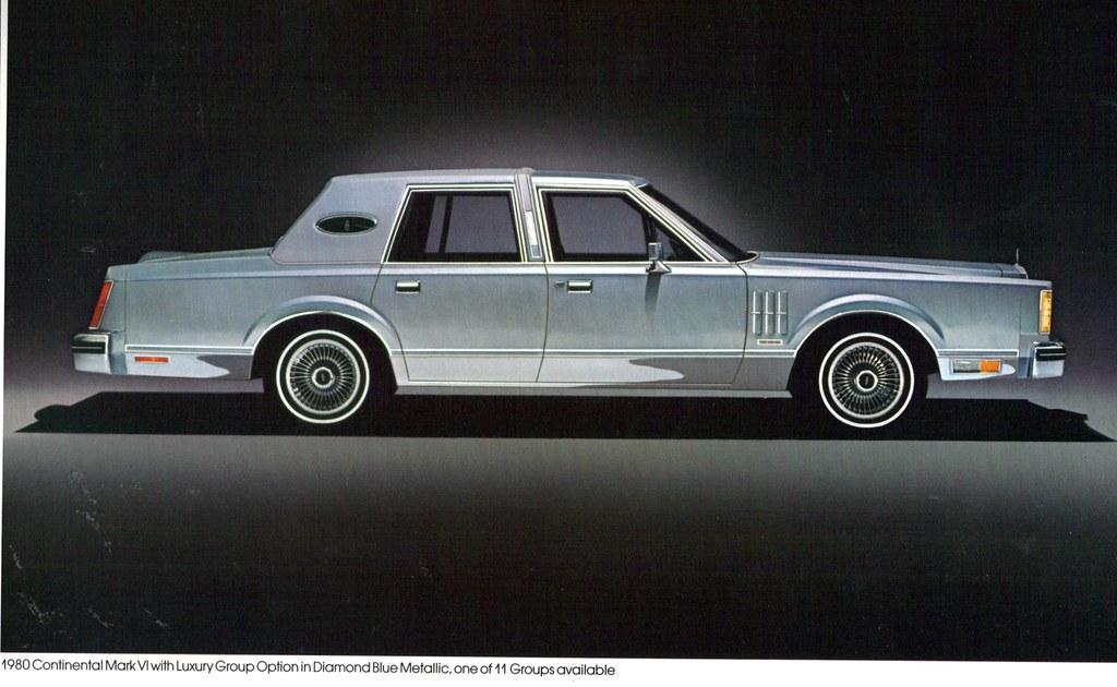 1980 Lincoln Continental Mark VI 4 Door Sedan  coconv  Flickr
