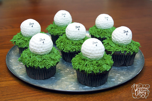 Golf Ball Icing Cake Toppers Uk