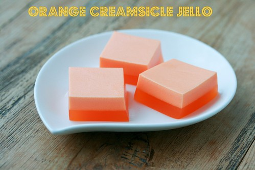 Creamsicle Jello - Cool Whip & Jello | by Food Librarian