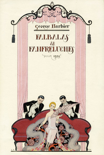 "Georges Barbier ""Falbalas et Fanfreluches"" 1925 