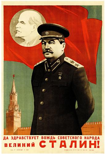 pro stalin propaganda posters