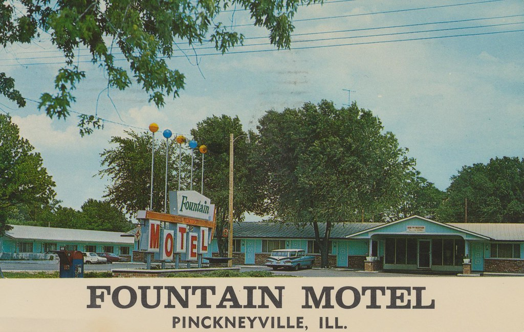Fountain Motel - Pinckneyville, Illinois