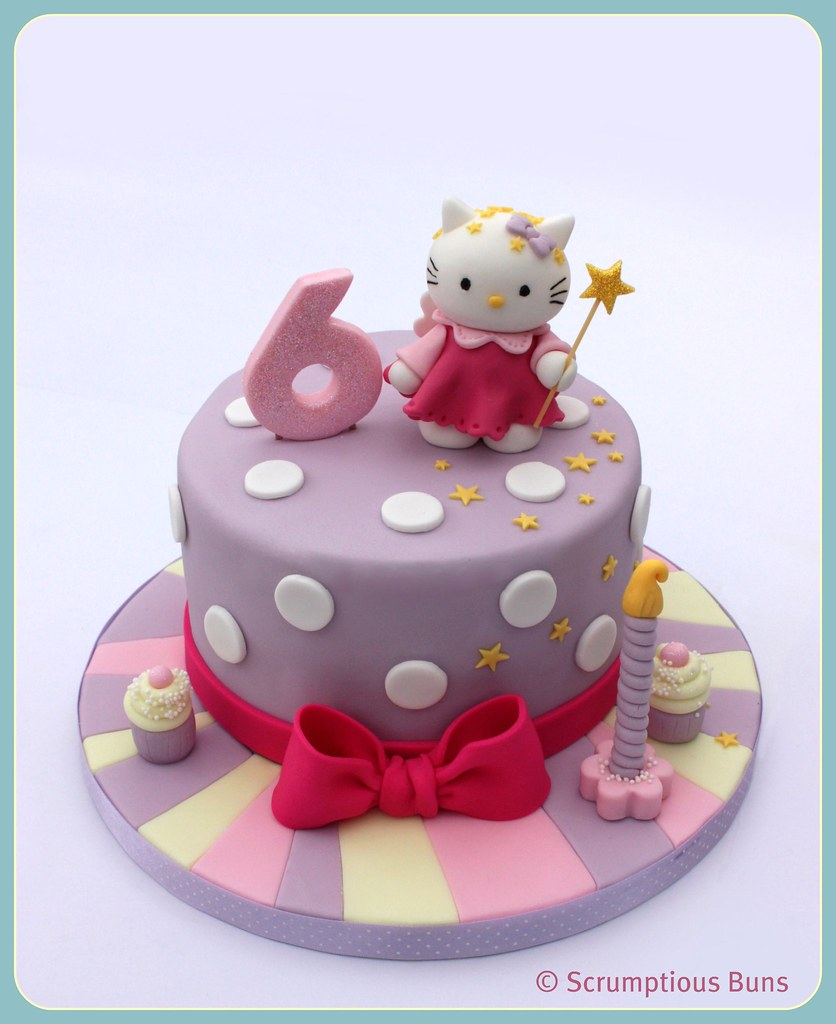 Hello Kitty Birthday Cake The First Hello Kitty Birthday C Flickr