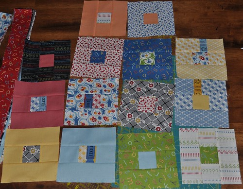 punctuation quilt blocks | by vickivictoria