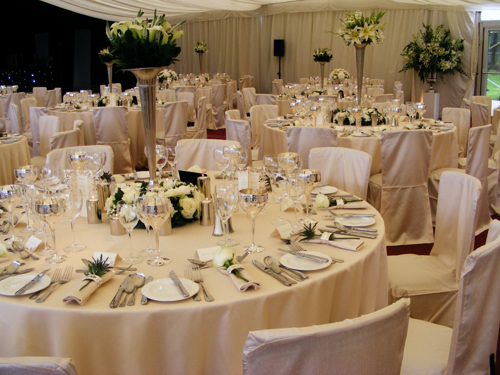 88 events designs a marquee wedding ivory faux silk tabl flickr