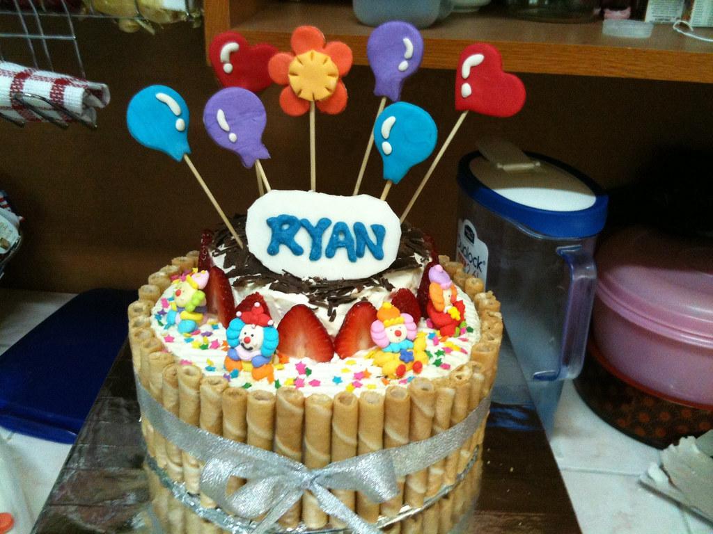 Ryan 2 Year Old Birthday Cake Elise Tan Flickr
