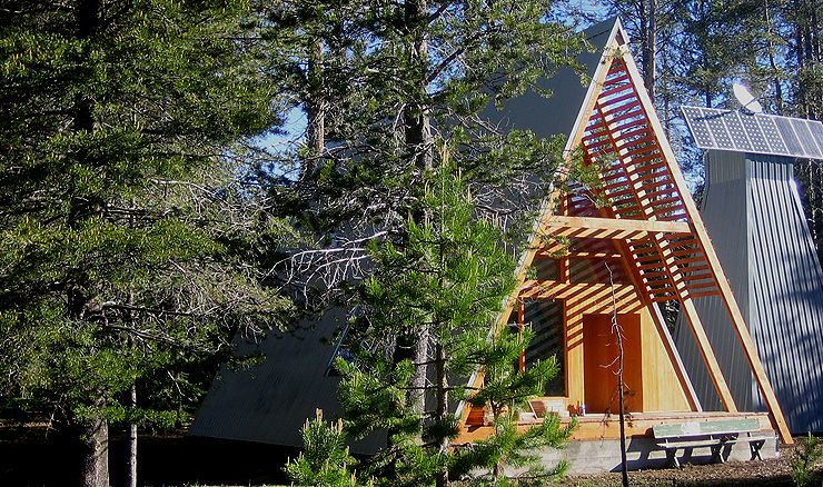 a frame log cabin by boutiquehomes