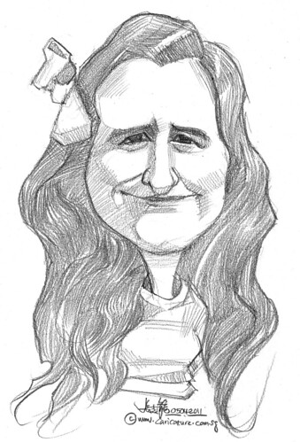 caricature in pencil - 20 | by jit@portraitworkshop.com