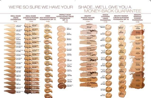 Clinique Foundation Color Chart Solidique27