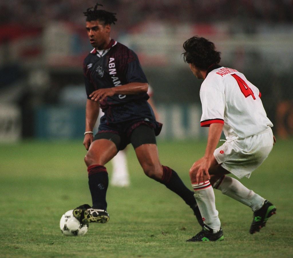 Frank Rijkaard 24 MAY 1995 FRANK RIJKAARD IN ACTION FOR A…