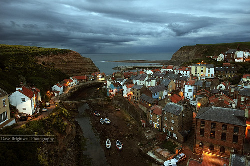 Night Falls On Staithes | by Dave Brightwell