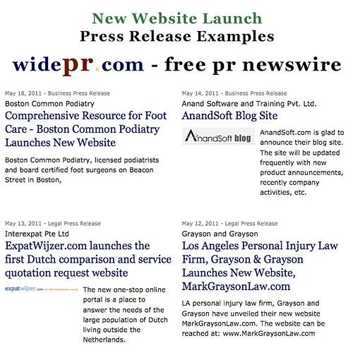 press release website launch - Khafre