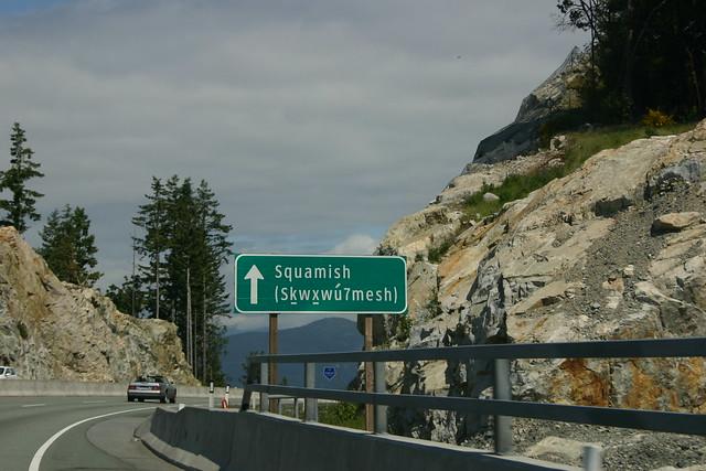 Whistler mountain and area
