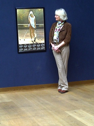 Athena 'Tennis Girl' Fiona Walker at Christie's (King Street, London) | by The Barber Institute of Fine Arts