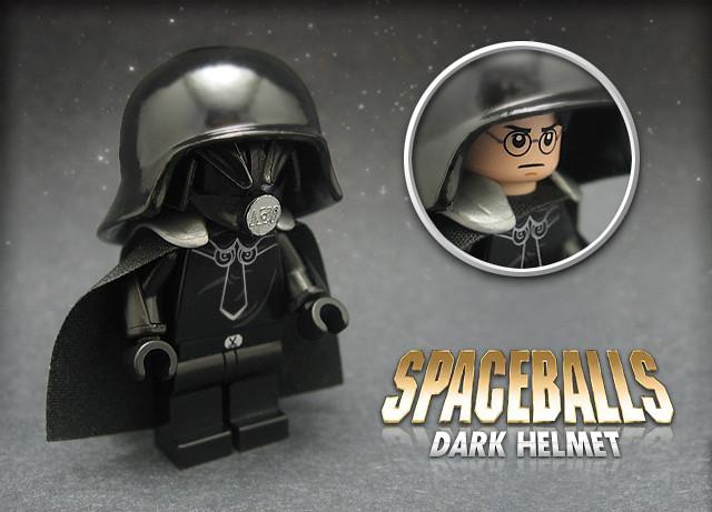 spaceballs dark helmet created for brickforge s greates flickr