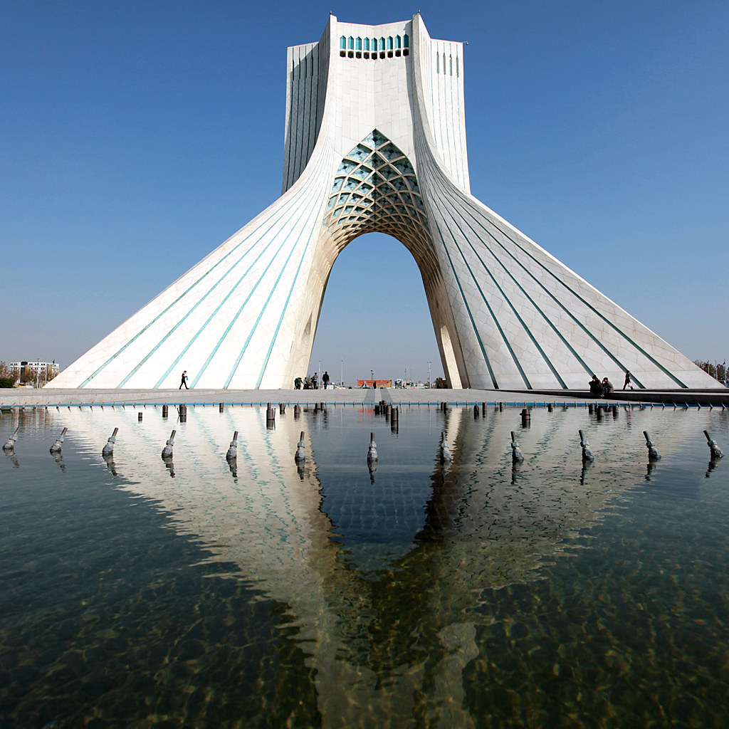 azadi tower in tehran, iran | The Azadi Tower (Persian: برج \u2026 | Flickr