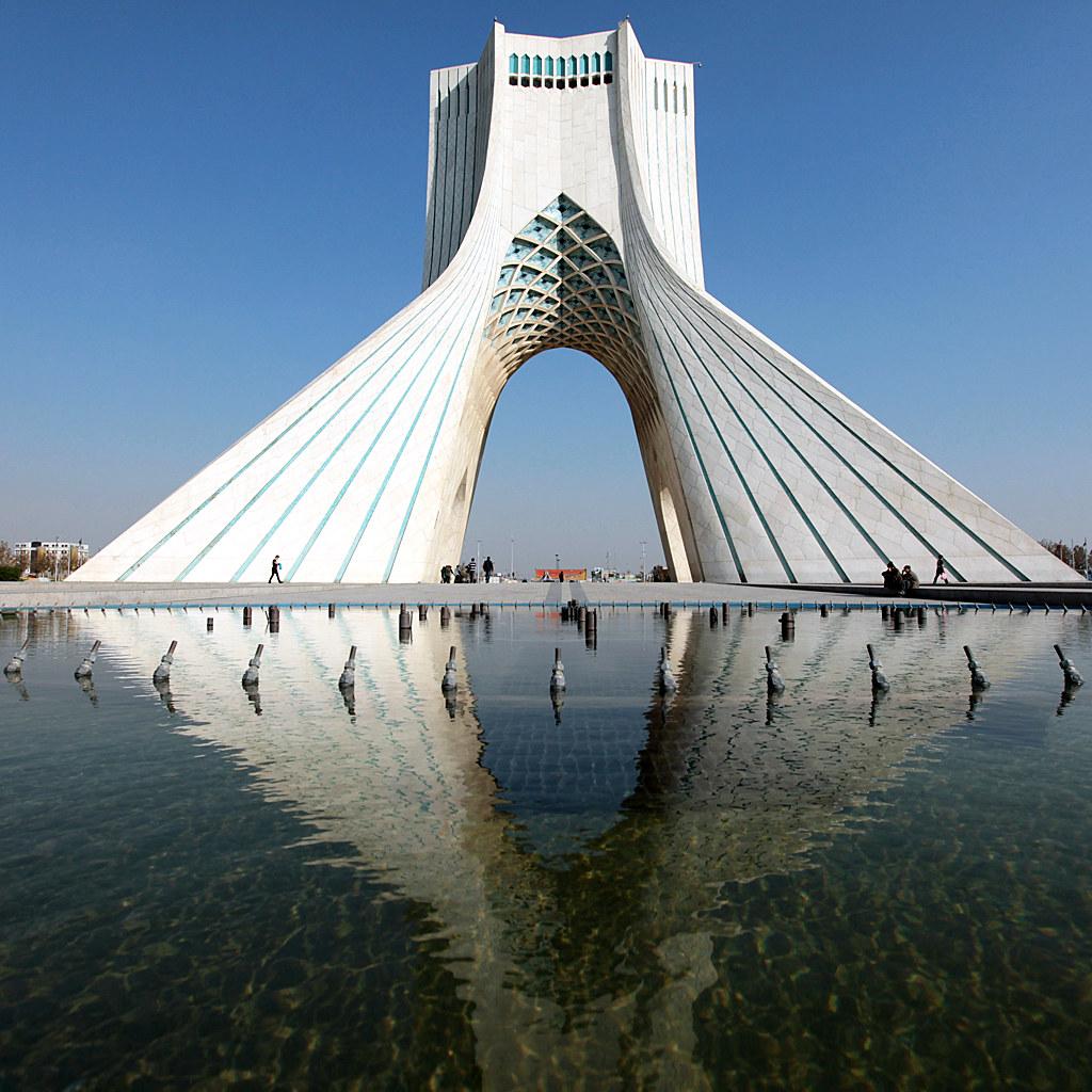 Good ... Azadi Tower In Tehran, Iran | By Mooon2 Design