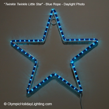 Twinkle twinkle little star rope light decoration lighted flickr olympicholidaylighting twinkle twinkle little star rope light decoration by olympicholidaylighting aloadofball Choice Image