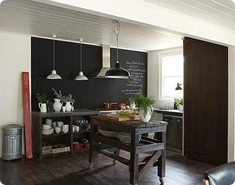 Lynda gardener eclectic vintage industrial modern kitchen for Old modern kitchen