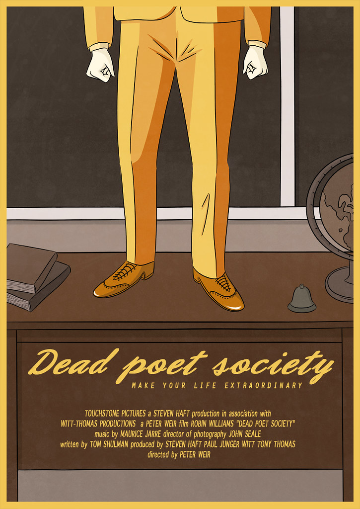 theme conformity explored peter weir s film dead poets soc The movie, 'dead poets society', is a 'dead poets society', is a film directed by peter weir the dangers of conformity and the dangers of.