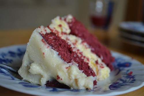 Red Velvet Cheesecake Cake Cupcakes