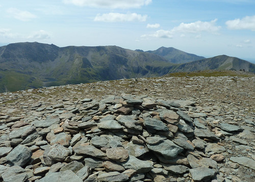 Glyders and Snowdon from  Pen Yr Ole Wen | by Borders Thinking