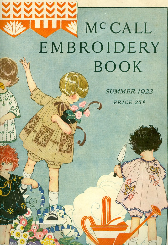 Mccall embroidery book flickr