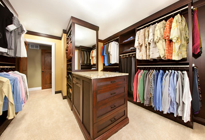 ... Another Look At The Cherry Stained Chicago Custom Closets | By Closet  OS Chicago