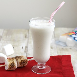Toasted Marshmallow Milkshake | by Tracey's Culinary Adventures