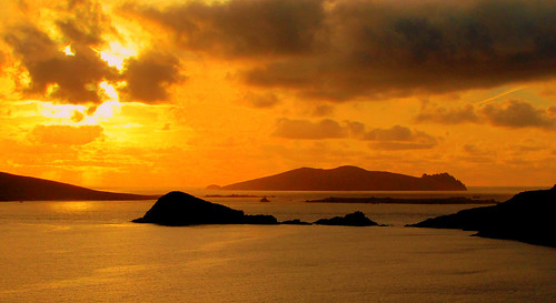 Sunset with Sleeping Giant, Kerry/ Explore | by Barbara Walsh Photography