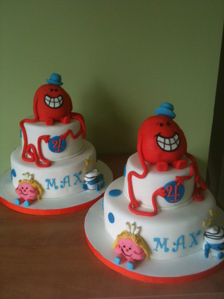 Mr Tickle Birthday Cakes Birthday Cakes1 For The Morning Flickr