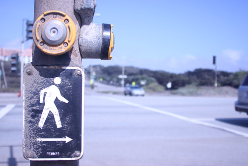 Sign for Crossing the Street | by MaYanPhotography