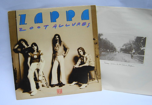1976 Vintage Zappa Zoot Allures Record Album Lp Flickr