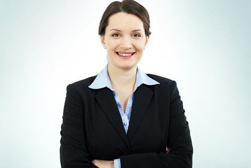 Happy businesswoman | by citirecruitment