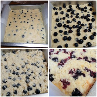 Lemon Blueberry Buckle collage 1 | by Food Librarian