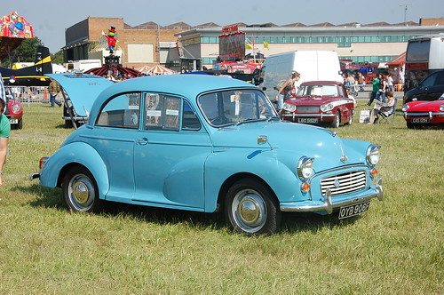 morris minor at waddington airshow 2011 | by mpatston
