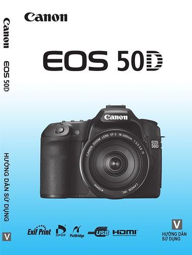 Hướng dẫn sử dụng tiếng việt tiếng việt máy ảnh Canon 50D