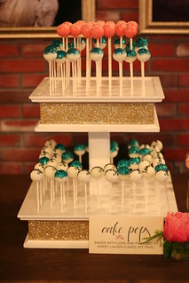 Cake Pops for Lovely Little Details launch party at Blu Bungalow in San Francisco | by Sweet Lauren Cakes
