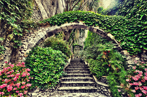 the path to the secret garden cagnes sur mer france flickr. Black Bedroom Furniture Sets. Home Design Ideas