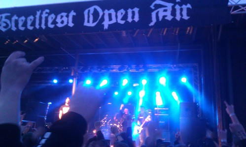 #Steelfest open air #Entombed. It is fucking cold but this crowd makes me feel warmer. | by rolle-