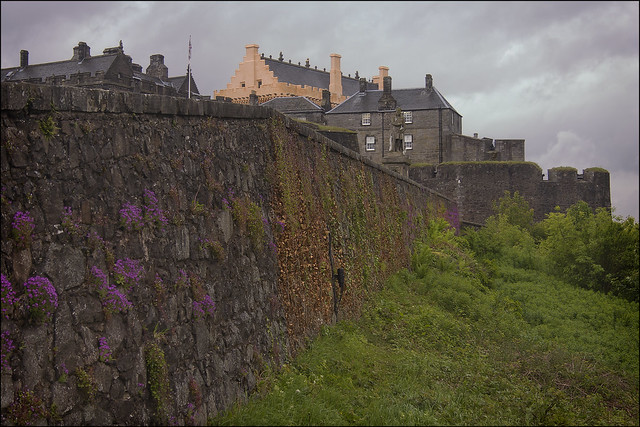 Stirling Castle, Esplanade Wall