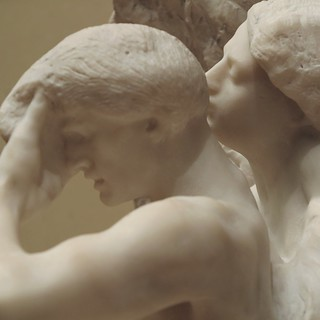 Orpheus and Eurydice, Auguste Rodin, 1893 (marble) at the Metropolitan Museum of Art | by rwchicago