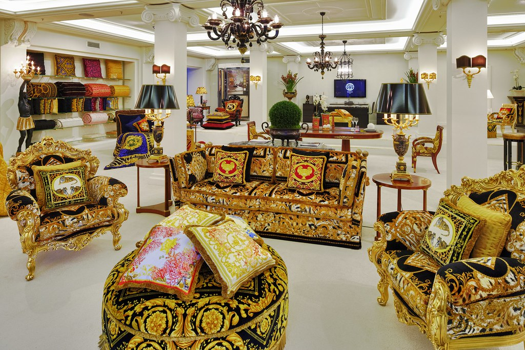 VERSACE HOME Orleans Sofa | Available at Palazzo Collezioni … | Flickr