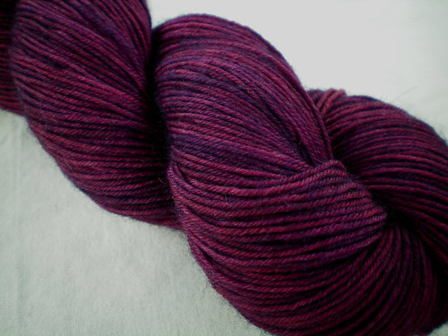 Overdyed Hand-dyed Yarns: Neat Little Rows | by juliezryan
